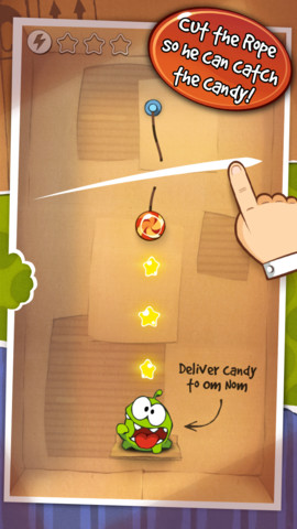Cut the Rope iPhone App
