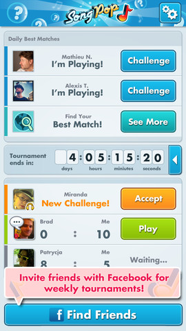 SongPop iPhone App